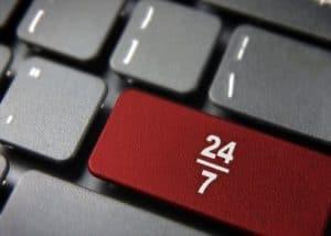 service disponible 24h/24 et 7j/7
