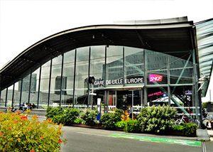Gare de Lille Europe et Flandes