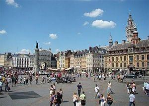 Centre ville place de Lille